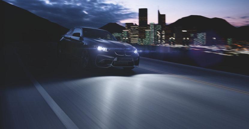 Un éclairage du véhicule adapté